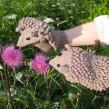 Варежки Ежовые рукавицы Мусс