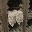 Варежки Ежовые рукавицы серо-бежевые