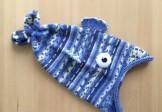 Шапка-рыба Blue